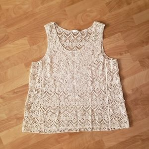 Crochet knit tank from Fun 2 Fun